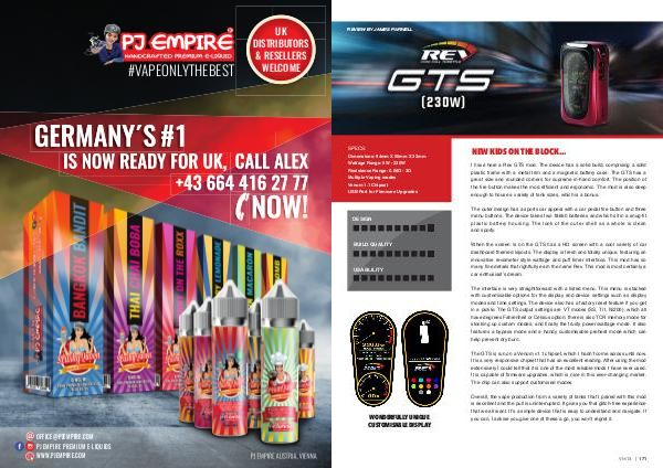 Vapouround magazine ISSUE 15 - Page 171