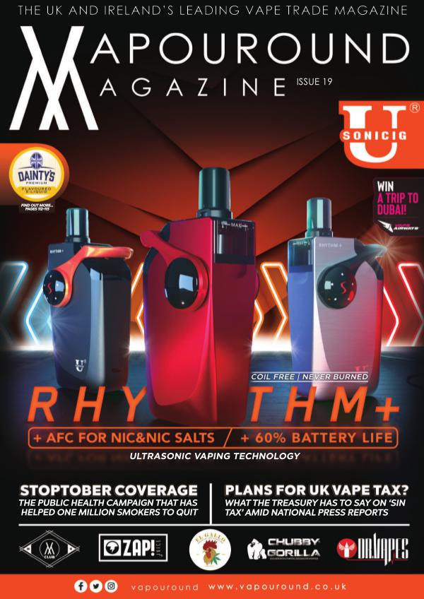 Vapouround magazine VAPOUROUND MAGAZINE OCTOBER ISSUE19