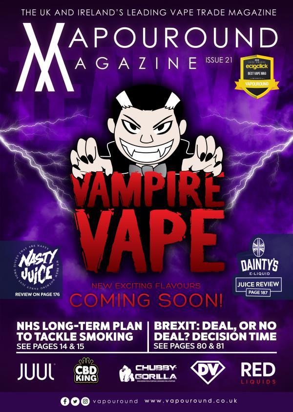 Vapouround magazine ISSUE 21
