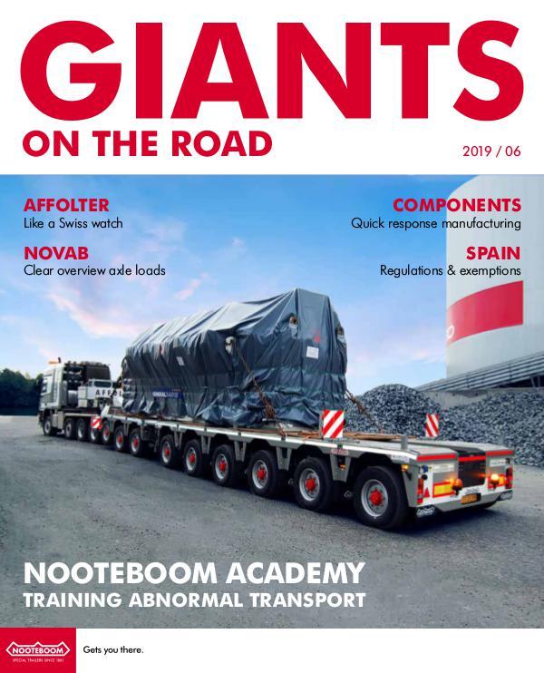 English - Nooteboom Giants on the Road Magazine English - Nr. 6 - 2019