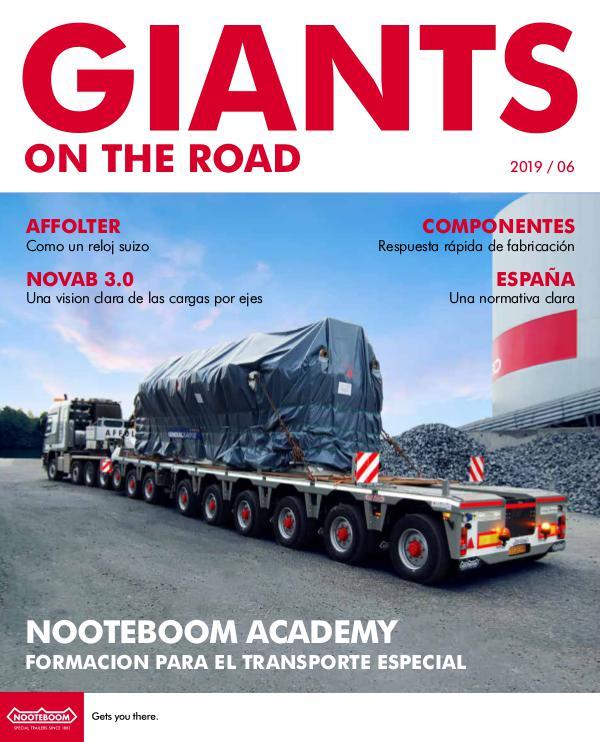 Español Nooteboom Giants on the Road magazine Español - Nr. 6 - 2019