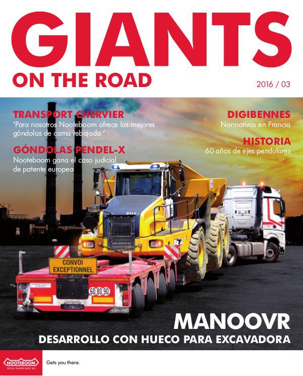 Español Nooteboom Giants on the Road magazine Español - Nr.3