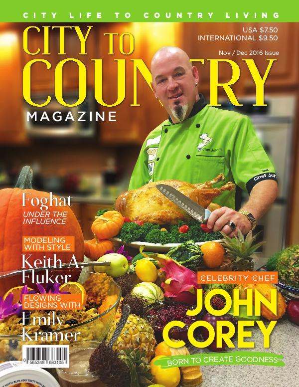 City To Countrymagazine Nov/Dec 2016 Nov/Dec 2016