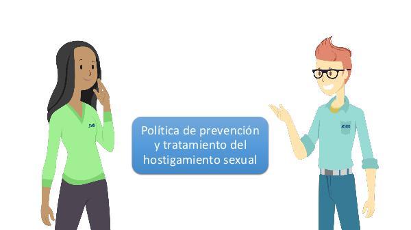 política para prevenir y tratar los casos de hostigamiento sexual en 02
