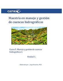 Curso 5- Maestría en manejo y gestión de cuencas hidrográficas