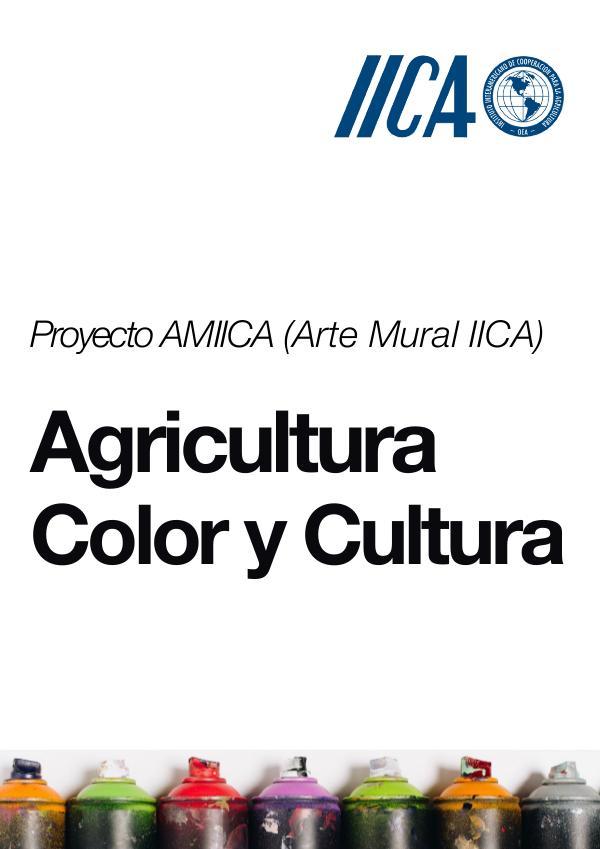Proyecto AMIICA (Arte Mural IICA) Propuesta Mural IICA PDF