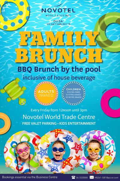 FRIDAY FAMILY BRUNCH AT NOVOTEL WORLD TRADE CENTRE Oct. 2015