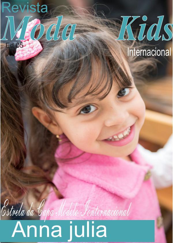 Moda Kids Internacional Anna julia