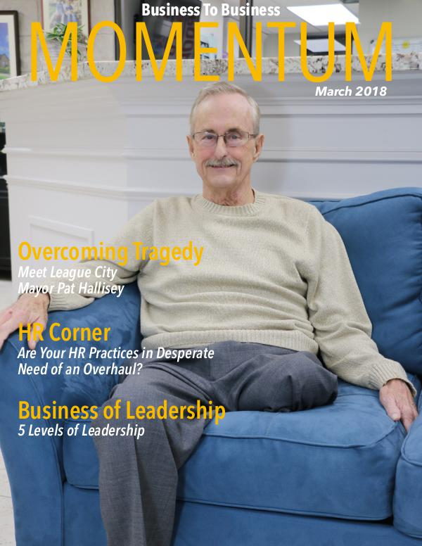 Momentum - Business to Business Online Magazine MOMENTUM March 2018