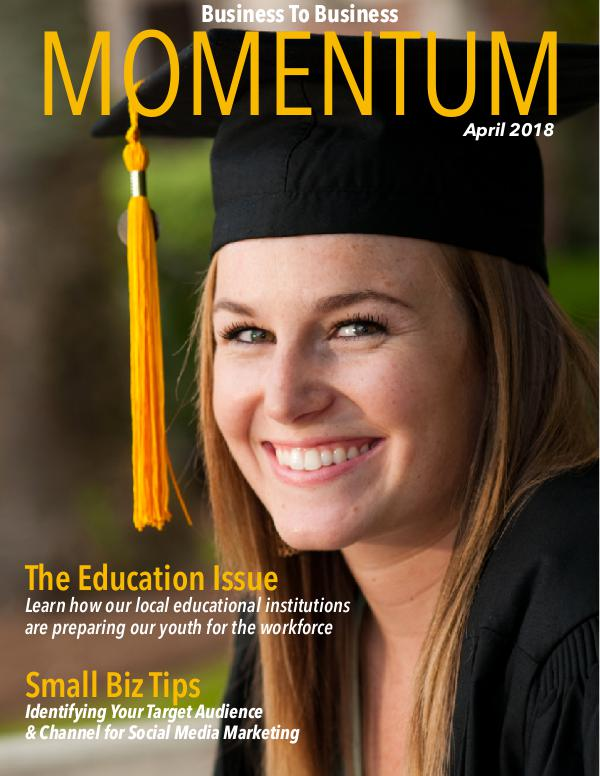 Momentum - Business to Business Online Magazine MOMENTUM April 2018