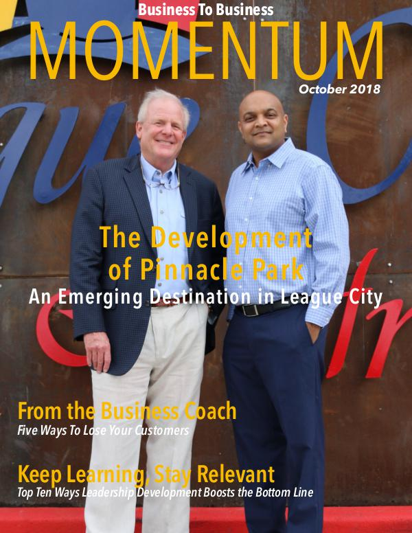 Momentum - Business to Business Online Magazine October 2018
