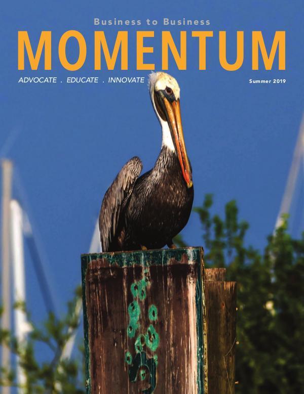 Momentum - Business to Business Online Magazine MOMENTUM SUMMER 2019