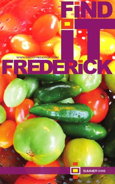FiND iT FREDERiCK Magazine Summer 2016