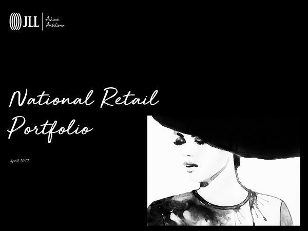 Retail Portfolio of National Properties Volume 1