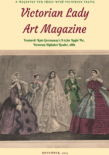 Victorian Lady Art Magazine