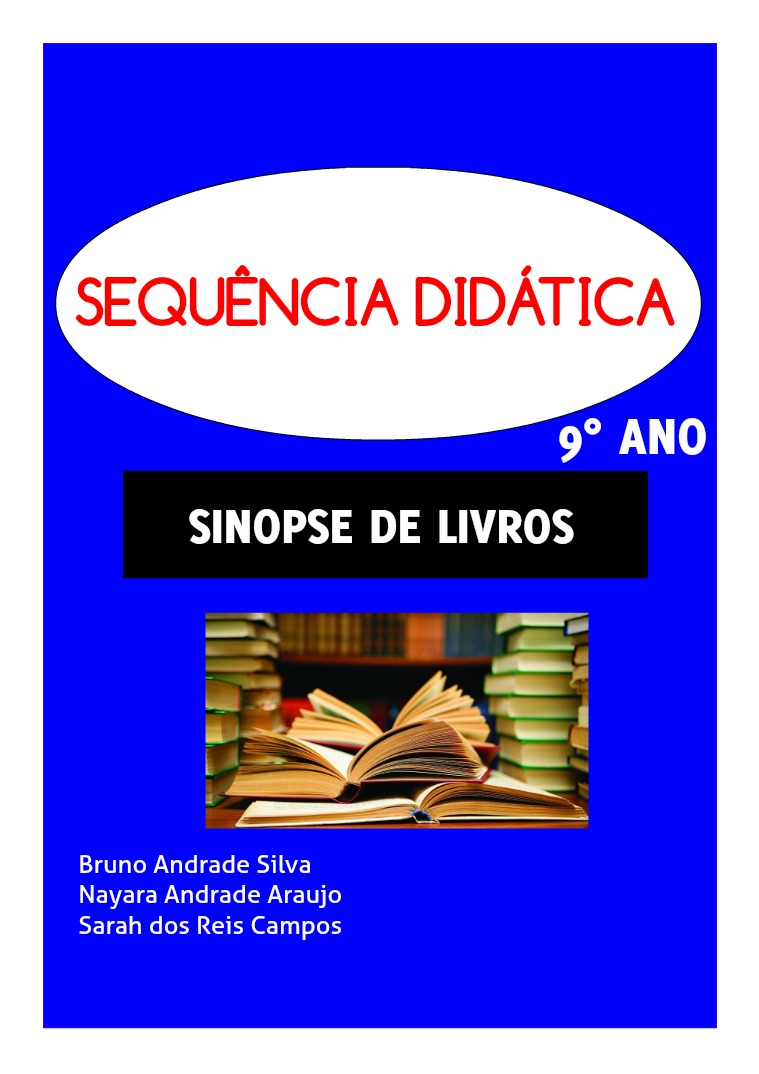 SD - SINOPSE DE LIVRO SEQUENCIA DIDÁTICA