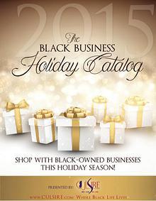 Black Business Holiday Catalog