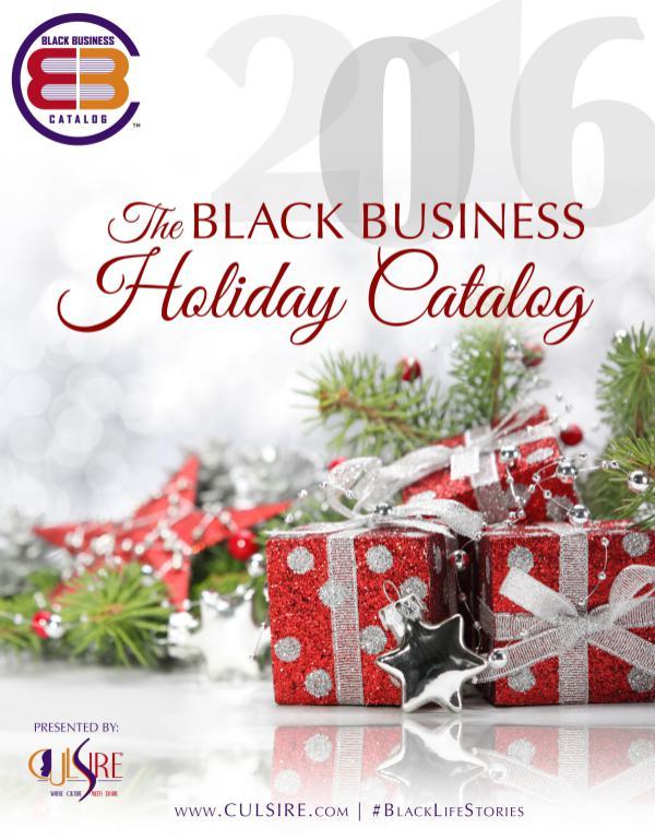 2016 Black Business Holiday Catalog 2