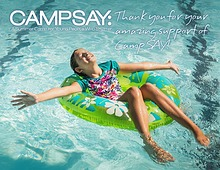 Thank You for Your Amazing Support of Camp SAY!
