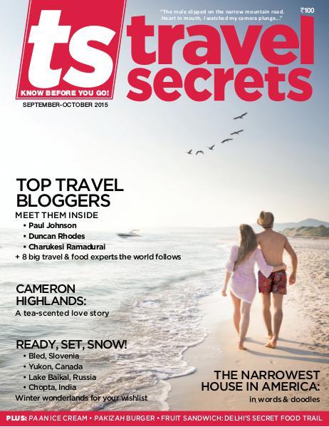 Travel Secrets September - October 2015