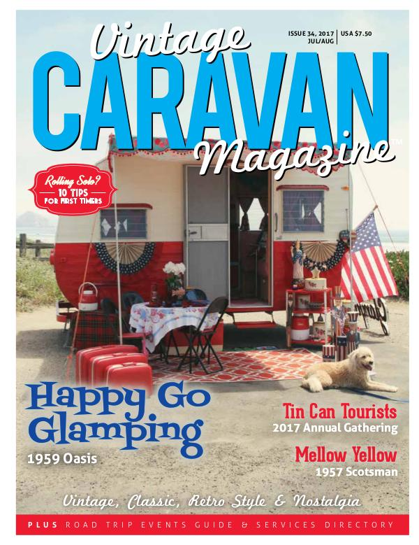 Vintage Caravan Magazine Issue 34