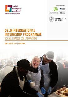 The Oslo International Internship Prospectus