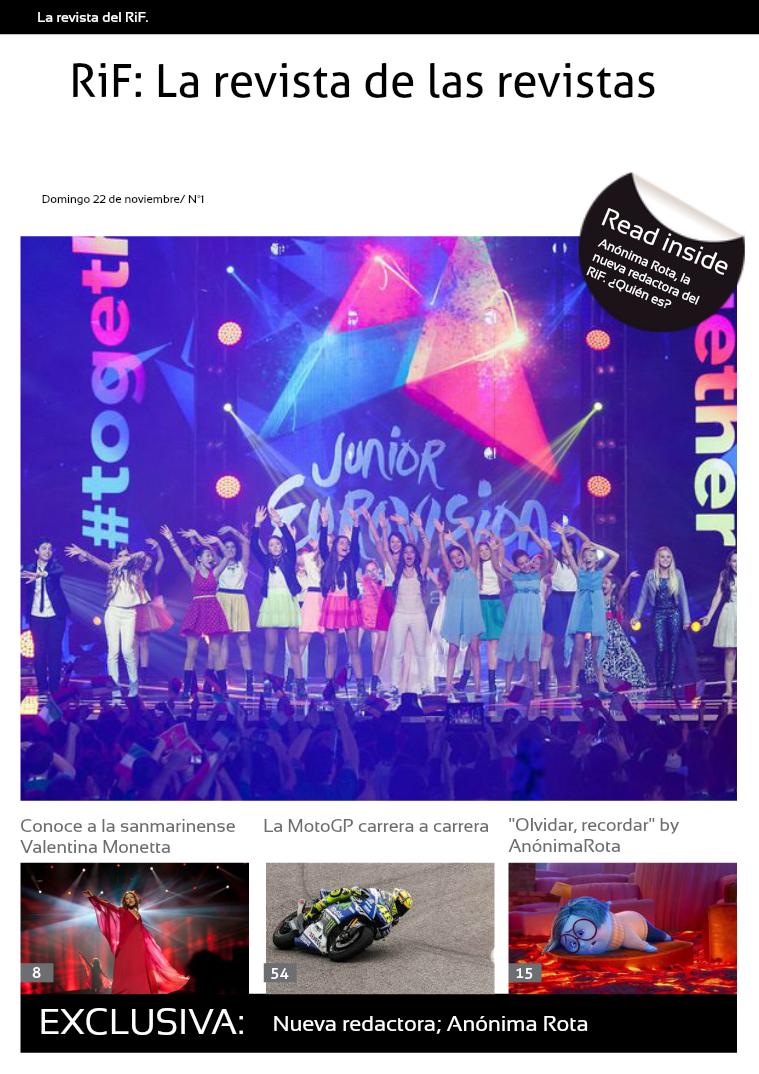 RiF: La revista de las revistas 22 de noviembre