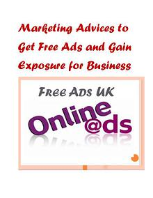 Marketing Advices to Get Free Ads and Gain Exposure for Business