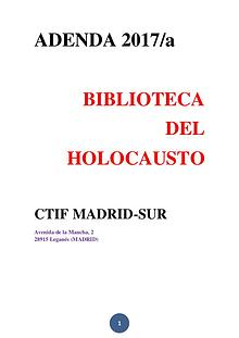 BIBLIOTECA DEL HOLOCAUSTO - ADENDA 2017/A