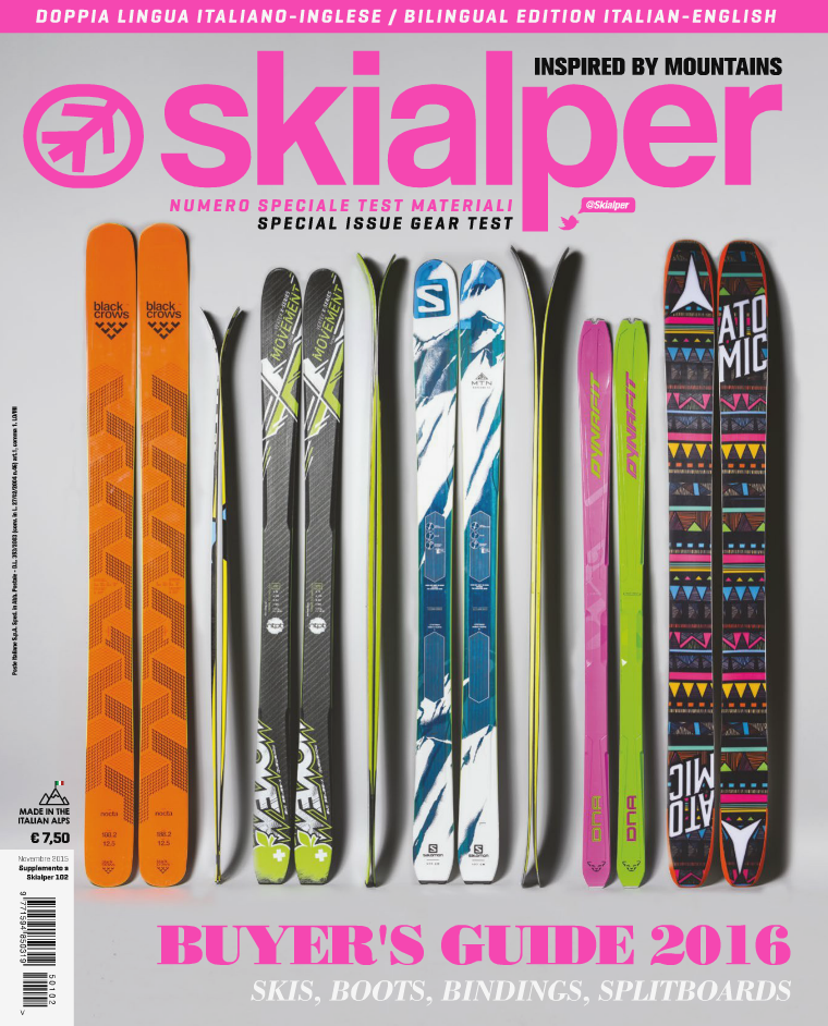 Buyer's Guide 2016 - Skialper november 2015