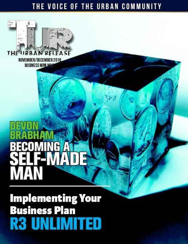 TUR Mini Magazine Business November/December 2016