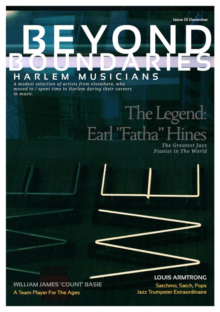 Beyond Boundaries: Harlem Musicians Beyond Boundaries Volume 1: Harlem Musicians