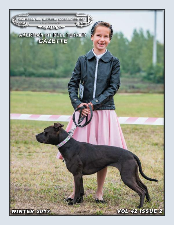 American Pit Bull Terrier Gazette Volume 41 Issue 2