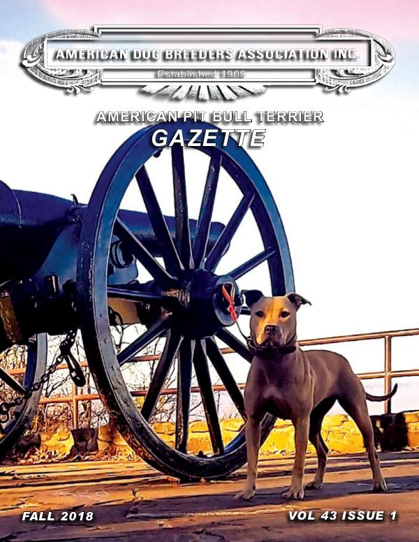 American Pit Bull Terrier Gazette Vol43 Issue1