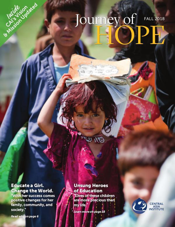 Journey Of Hope - Fall 2018 Journey of Hope 2018