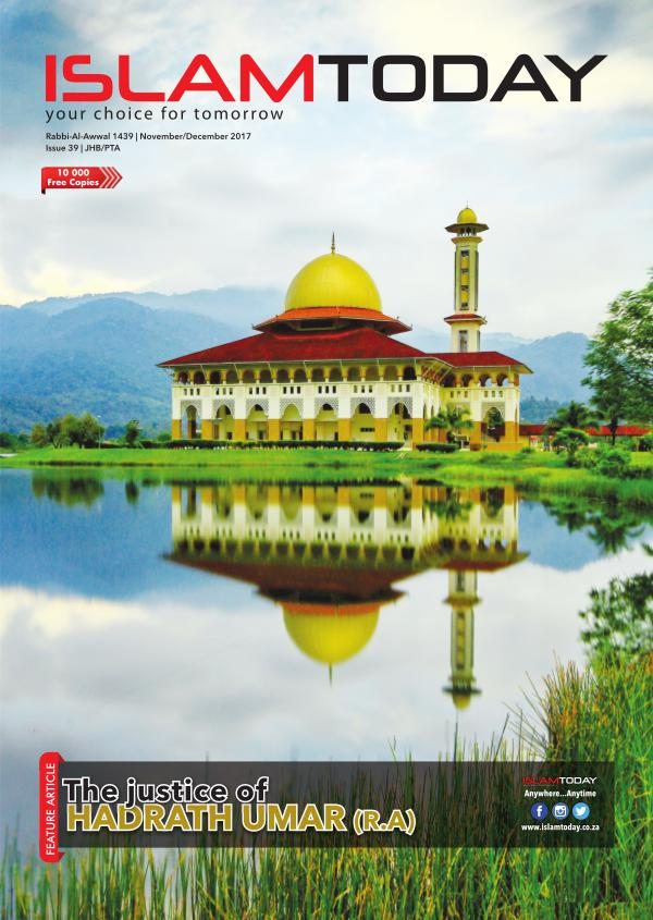 Islam Today Issue 39 JHB