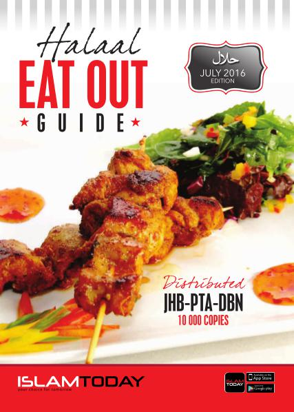 Summer Guides Johannesburg Eat Out Guide