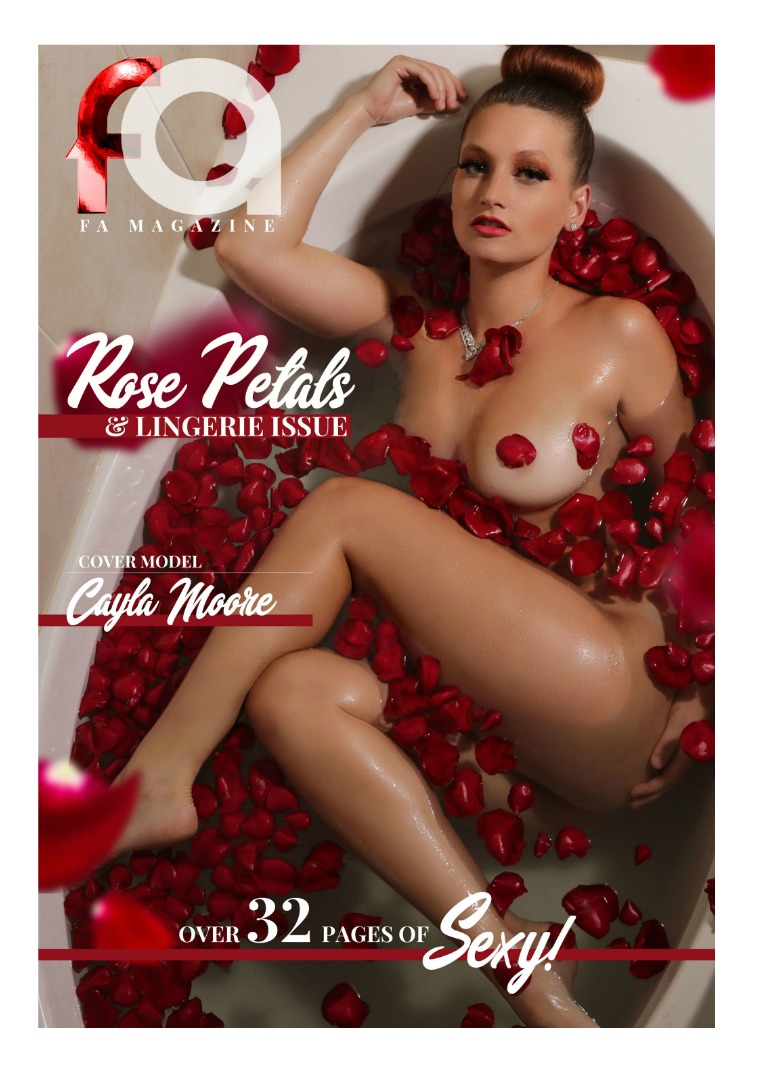 Fa Magazine Rose Petals & Lingerie Issue