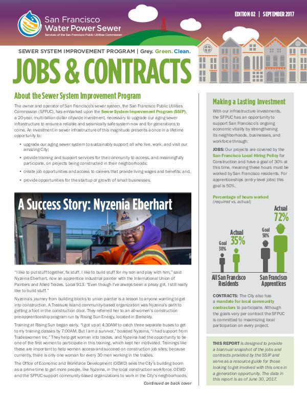 SSIP Jobs & Contracts Report Edition 2: September 2017