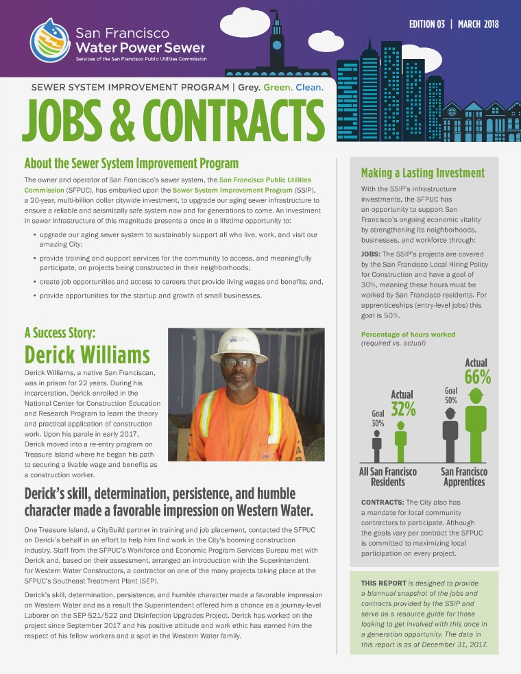 SSIP Jobs & Contracts Report Edition 3: March 2018