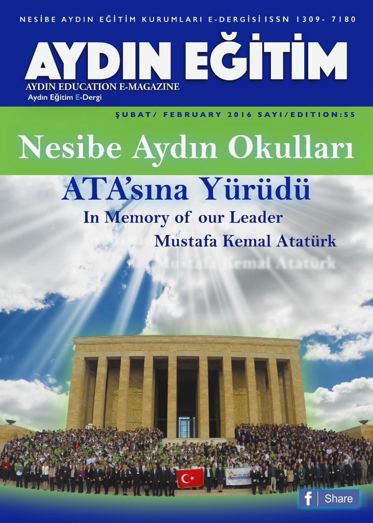 Nesibe Aydın  e-magazine Şubat- February 7, 2016