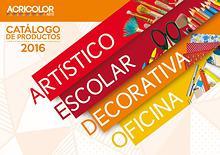 CATÁLOGO - ACRICOLOR ARTE 2015 - 2016