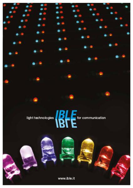 IBLE 2016 Catalogo generale