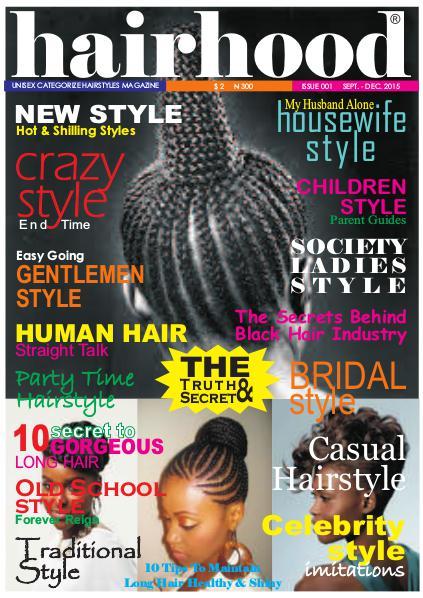 HAIRHOOD Magazine (Digital Version) t.-. Sep 2015