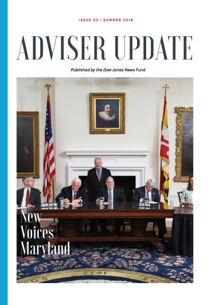 Adviser Update Summer 2016