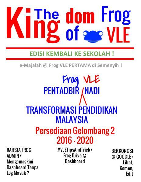 The Kingdom of Frog VLE Edisi Kembali Ke Sekolah