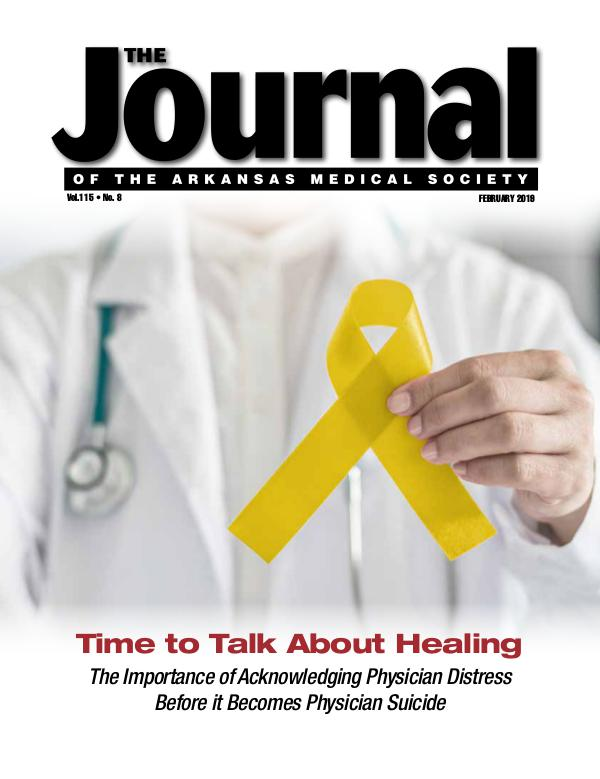 The Journal of the Arkansas Medical Society Med Journal Feb 2019 Final 2