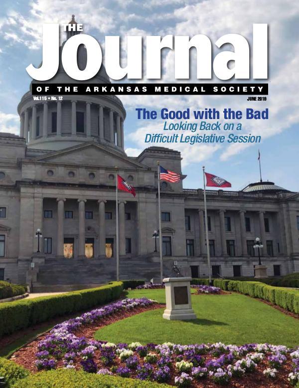 The Journal of the Arkansas Medical Society Med Journal June 2019 Final