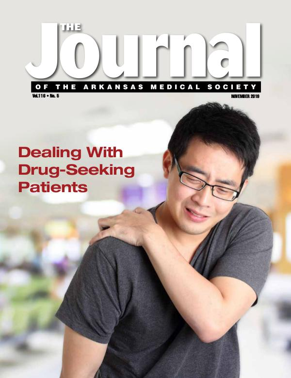 The Journal of the Arkansas Medical Society Medical Journal November 2019 Vol. 116 No. 5