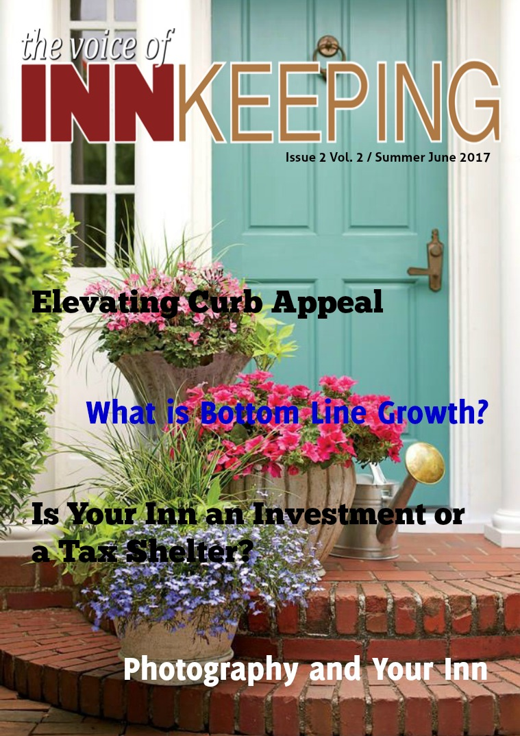 The Voice of Innkeeping Vol 2 Issue 2 June Summer 2017
